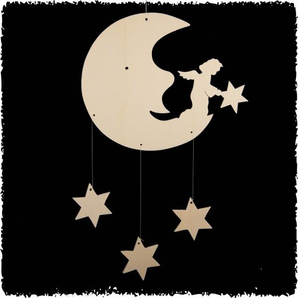 Mond mit Sterne, natur