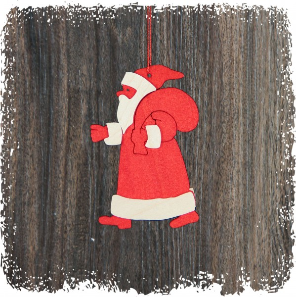 Weihnachtsmann, rot